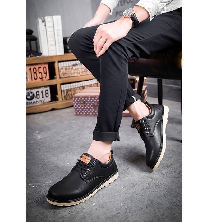 Giày Nam Da Cao Cấp Hàn Quốc - S19 8