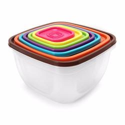 Bộ hộp nhựa 7 món sắc màu cao cấp