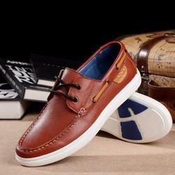 Giày tây nam kiểu da biểu bì mềm dẻo chất lượng da tốt