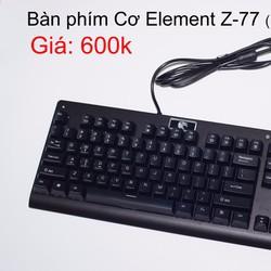 Bàn phím Cơ Element Z-77 ko đèn LED