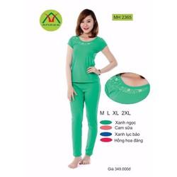 Đồ mặc nhà quần dài tay cộc Anava 2365