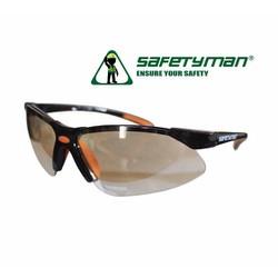 Kính bảo hộ Safetyman SM313 màu trắng tráng bạc