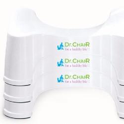 Ghế kê chân toilet Dr.ChaiR - 3 chiếc