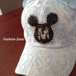 nón kết ren nón lưỡi trai nón che nắng thời trang Mickey