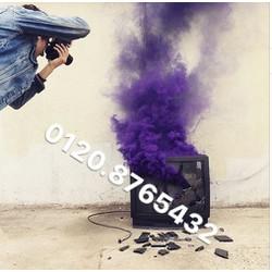 Bom khói màu -khói màu chụp hình