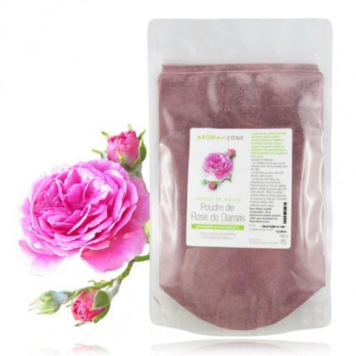 Poudre ayurvedique de Rose de Damas 100gram Aroma-zone France
