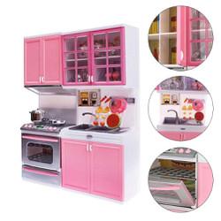 Bộ 2 tủ với đầy đủ phụ kiện nhà bếp cho bé