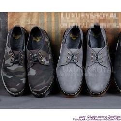 Giày Doctor nam cổ thấp mẫu mới sành điệu GDOC24