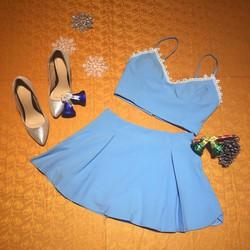 bộ váy thiết kế