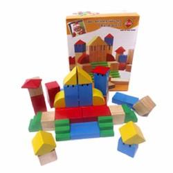 Bộ đồ chơi bằng gỗ Xếp khối sáng tạo DC16