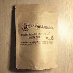 Cà phê nguyên chất Ngân Bảo-500gr