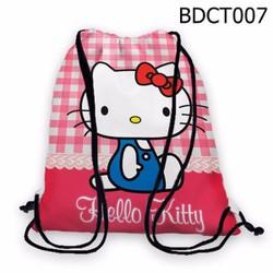 Balo dây rút - Túi rút Dễ thương Hello Kitty HOT - VBDCT007
