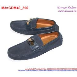 Giày mọi da nam phối tag chữ Z sành điệu lịch lãm GDM40