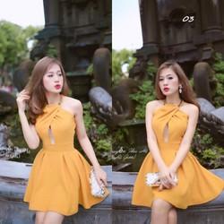 Đầm xoè hotgirl