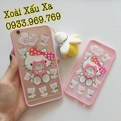 [Xoài Xấu Xa Shop] CASE ỐP LƯNG IRING HELLO KITTY IPHONE 6,6S PLUS