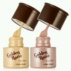 Kem lót có nhũ tạo v-line ODBO Golden Ratio Face Glam