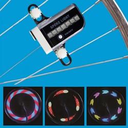Đèn LED gắn bánh xe Cầu Vồng