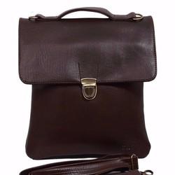 Túi đeo chéo đựng Ipad CNT Đứng màu nâu đậm