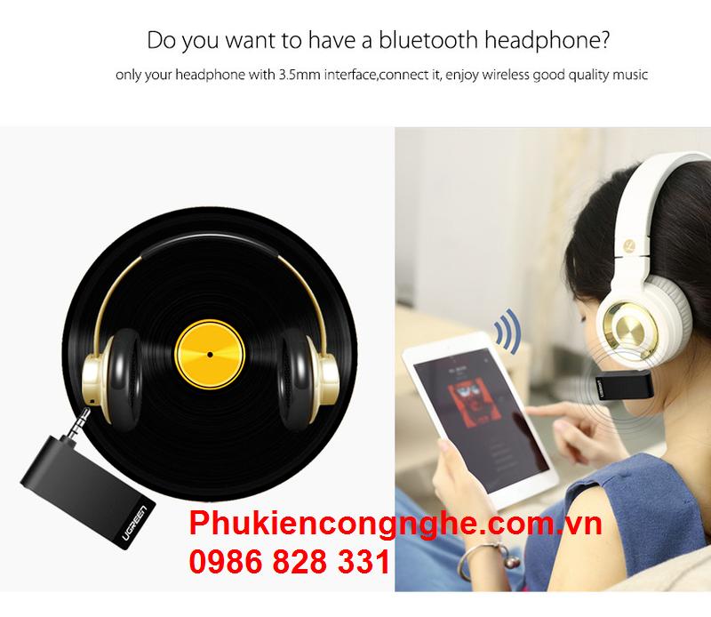 Bluetooth Music có hỗ trợ Mic cho Điện thoại chính hãng Ugreen 30348 4