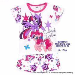 Bộ thun hình Pony xinh xắn