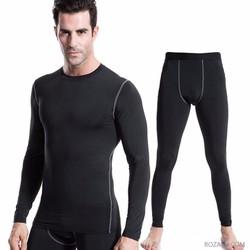 Bộ quần áo tập thể thao chuyên nghiệp Sportmax SMBD32039BL - Màu đen