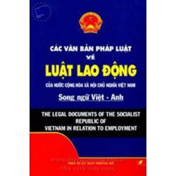 Sách Luật lao động song ngữ Việt anh