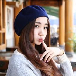 Mũ Nồi Nón Nữ Nấm Dạ Nỉ Bere Beret Thời Trang Hàn Quốc Chất Xịn