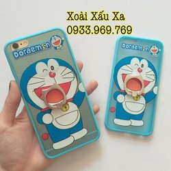 [Xoài Xấu Xa Shop] CASE ỐP LƯNG IRING ĐORAEMON IPHONE 6,6S PLUS