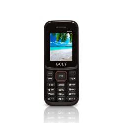 Điện thoại pin bền giá cực rẻ Goly G108 Đen