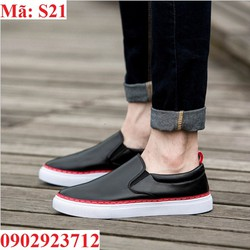 Giày Lười Nam Hàn Quốc Da Cao Cấp Hàng Độc - S21