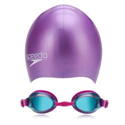 Speedo cho bé - Set nón bơi và kính bơi - hàng nhập