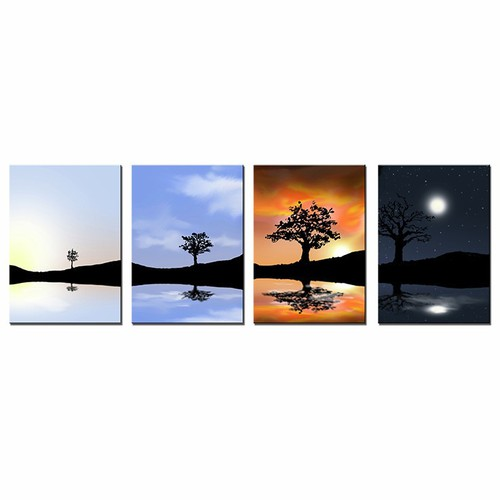 Tranh trang trí nội thất bốn mùa nghệ thuật - 4113661 , 4554834 , 15_4554834 , 829000 , Tranh-trang-tri-noi-that-bon-mua-nghe-thuat-15_4554834 , sendo.vn , Tranh trang trí nội thất bốn mùa nghệ thuật