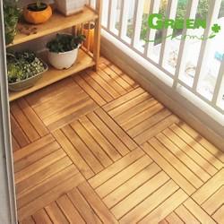 Vỉ gỗ lót sàn tiện lợi.