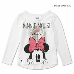 Ao thun tay dài in hình chuột Minnie