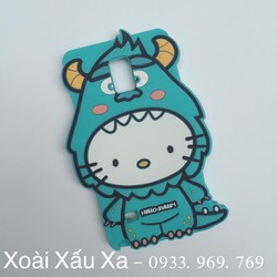 [Xoài Xấu Xa Shop] ỐP LƯNG SILICONE KITTY MONSTER GALAXY NOTE 4