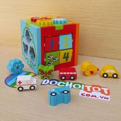 Bộ đồ chơi hộp gỗ thông minh