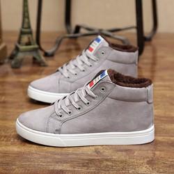 Giày Cổ Cao Da Lộn  - MS TU90