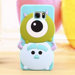 [Xoài Xấu Xa Shop] ỐP LƯNG CASE SILICONE MONSTER INC, SS GALAXY NOTE 4