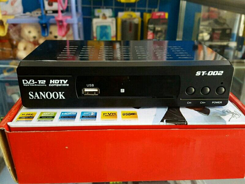 Đầu thu truyền hình mặt đất Sanook ST002 nhập khẩu Thái Lan chuẩn HD 1