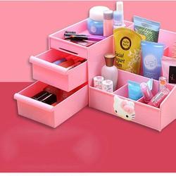 Kệ mỹ phẩm Hello Kitty xinh lung linh 3 tầng