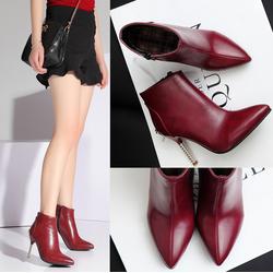 Giày bốt da cao cấp phong cách châu âu CG620