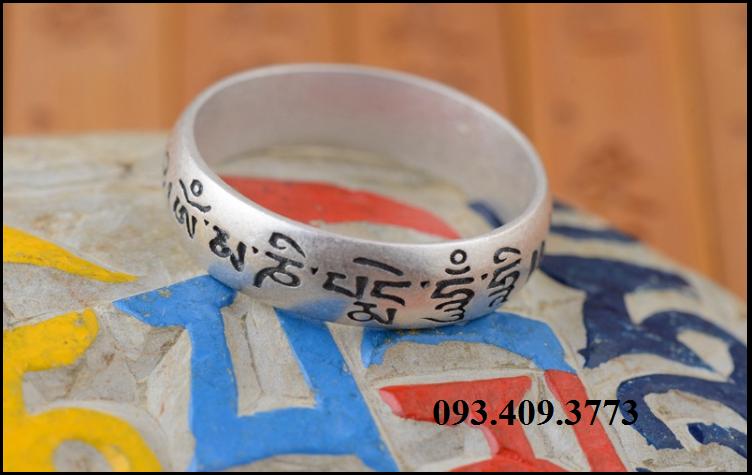 Nhẫn Khắc Om Mani Padme Hum Tây Tạng -NH166 2