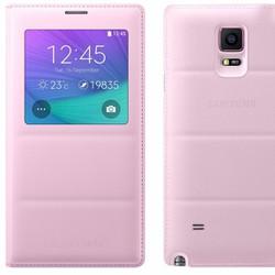 S View Galaxy Note 4 màu hồng chính hãng
