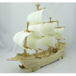 Mô hình tàu thuyền buồm lắp gép
