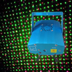 Đèn Lazer chấm bi cảm ứng nhạc