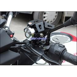 Đèn trợ sáng cho xe máy có 1 bóng led lớn