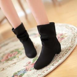 Giày bốt nữ cổ thấp mẫu đẹp