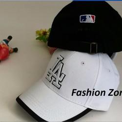 nón kết nón lưỡi trai nón bóng chày thêu chữ LA