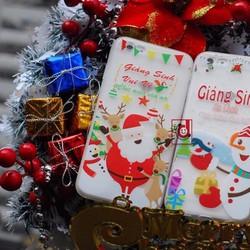 Ốp dẻo nhám giáng sinh đáng iu cho Iphone