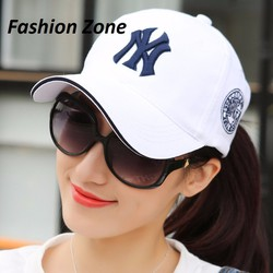 nón kết nón lưỡi trai nón bóng chày Hàn Quốc thêu chữ NY